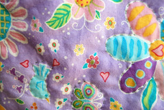 Close-up of Hand Quilting