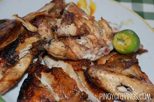 Grilled Chicken - Luz Kinilaw Place Davao City