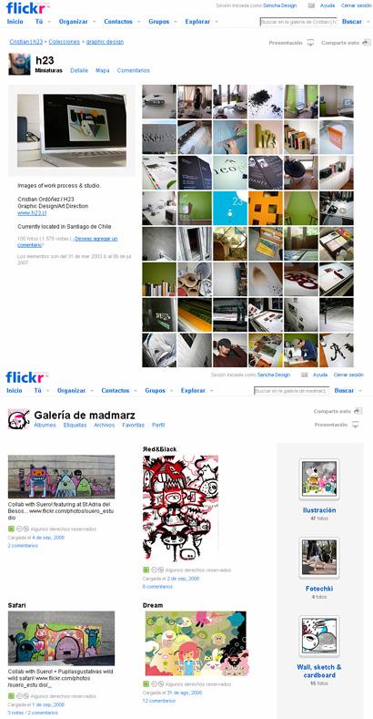 Galerías Flickr