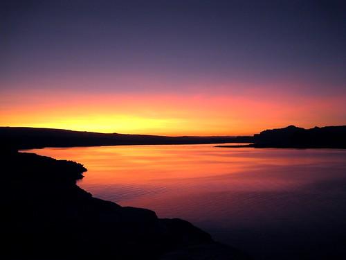 after sunset in Page, AZ  da neomiro.