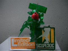 scopedog limited (nuo2x2) Tags: red dog toys arms scope full clear shoulder limited articulated mecha kaiyodo votoms redshoulder scopedog jfigure kaiyodoo nuo2x2