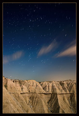 Bardenas. Sept. 2008 (martin zalba) Tags: espaa night stars spain desert estrellas nocturna desierto navarra bardenas sigma1020 canon50d martinzalba