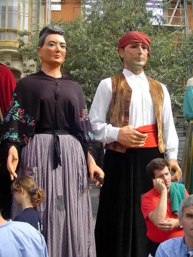 gigantes de Fraga, Huesca