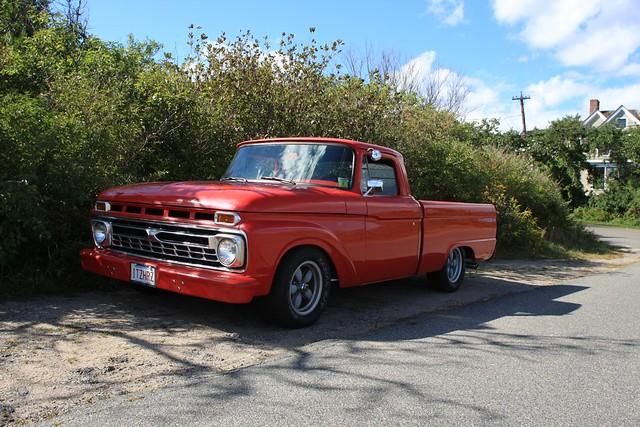 ford truck pickup f100 custom 1963
