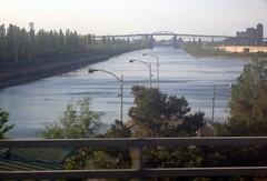 St. Lawrence River (chuntr) Tags: montreal bridges stlawrenceriver