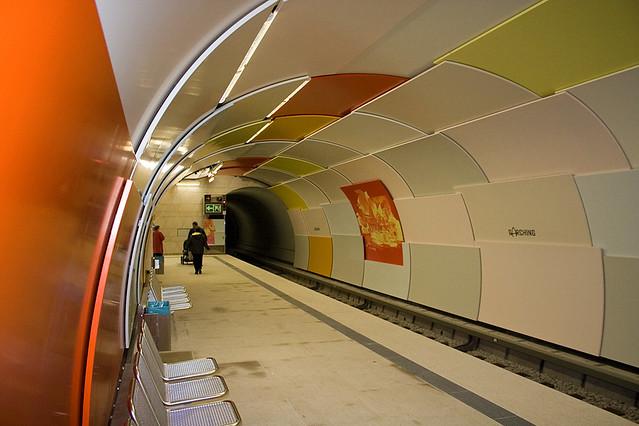 Garching U-Bahn Eröffnung 2006