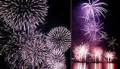 Silver Chrysanthemums and Purple Palms (EpicFireworks) Tags: silver palms purple fireworks pyro 13g chrysanthemums pyrotechnics epicfireworks