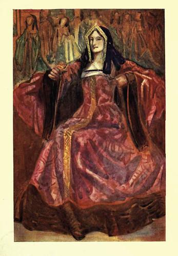 13- Vestimenta mujer epoca Enrique VII (1485-1509)