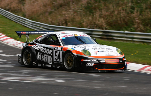 Team Hankook H&R-Spezialfedern Alzen Porsche Turbo