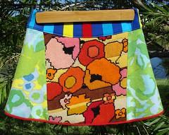 Pink & Orange Skirt Front