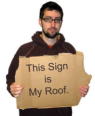 This Sign Is My Roof