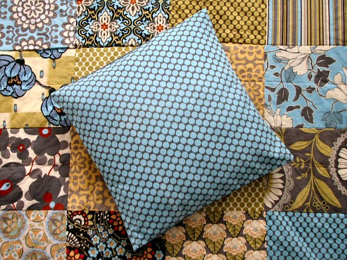 Second quilt and pillow