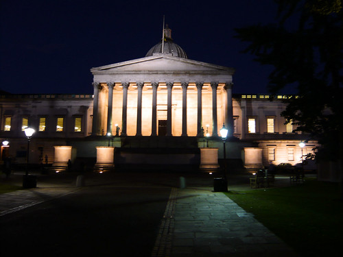UCL at night