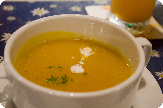 pumkin orange soup