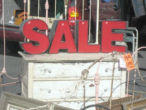 SALE ...Vintage Sign Letters