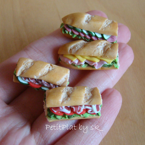 Miniature Food Sandwiches par PetitPlat by sk_