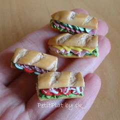Miniature Food Sandwiches
