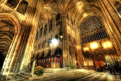 The High Altar and the Inner Cloister of Notre Dame (Stuck in Customs) Tags: lighting travel our light panorama paris france texture church colors beautiful lines architecture lady reflections painting de french effects photography lights la amazing nikon perfect exposure shoot mood catholic photographer shot angle cathedral image god roman details cit religion jesus gothic columns d2x perspective picture surreal atmosphere chapel notredame altar adventure holy edge pro top100 portfolio lovely capture spiritual notre dame tones hdr tutorial masterpiece sculpting le highquality travelphotography hdrtutorial stuckincustoms garnment treyratcliff curtissimmons