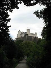 Festung Hohensalzburg from a far