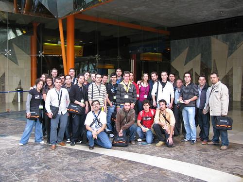 foto de grupo de la excursión Granada/Jaén (como el aeropuerto)