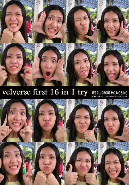 v first try
