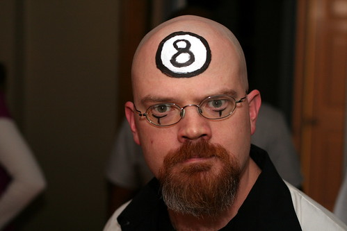 dr 8 ball - Dr Horrible Halloween Costume
