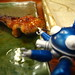 Eel and tachikoma