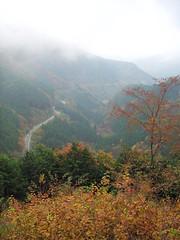 大滝の路から眺望 檜原都民の森