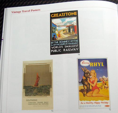 Railway Posters - Greatstone - 1930, Southend - 1922, Sunny Rhyl - 1959