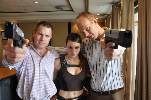James Bond, Lara Croft and Me
