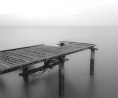 The Sea (troy16.) Tags: bw seascape monochrome mono pier blackwhite jetty shoreline troy coastline penang slowshutterspeed troy16 micarttttworldphotographyawards micartttt