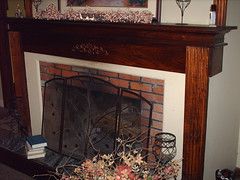Mantle piece at the old house (brian hainsworth) Tags: victorian mantle handbuilt