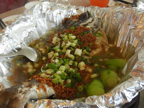 清蒸迦魶魚