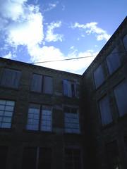 Sinister - Wilton Mill, Hawick (//starkravenmad) Tags: sky cloud mill abandoned dark spooky wilton hawick