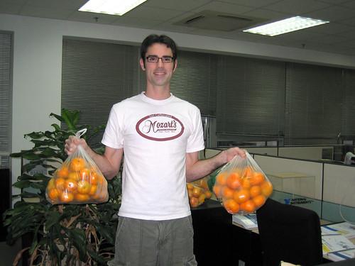 Smuggling Oranges