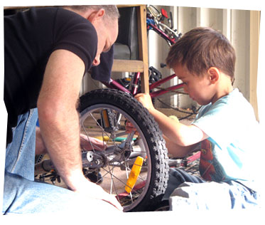 Bike Making with Dad