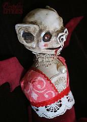 Albino Werebat Doll