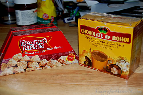 Pasalubong from Bohol: Peanut Kisses and Chokolate de Bohol