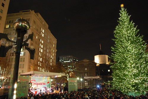 Tree Lighting- Portland, OR