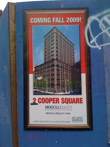 2 Cooper Square, East Village, New York CIty