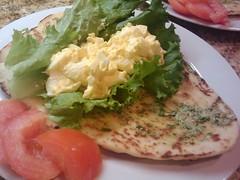Egg Salad Sandwich with Pesto Mayonnaise