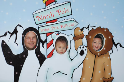 North Pole crew