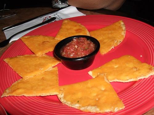 nacho and salsa