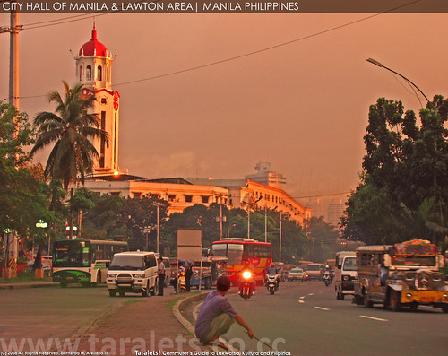 Manila City Hall and Lawton Area
