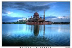 Masjid Putra Jaya,, Ramadan Kareem,  , ( Reposted ) (Mansour Ali) Tags: 350d muslim islam mosque malaysia kuala putrajaya malesia libya ramadan kl soe digitalrebelxt ramadha