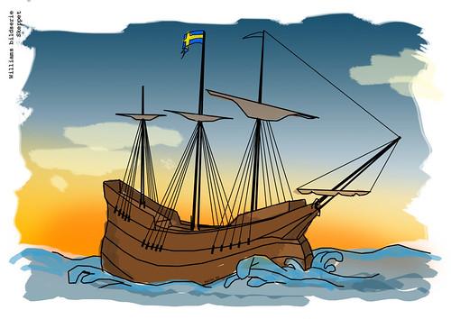 skeppet - Drawing