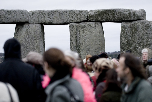 Stonhenge at the summer solstice courtesy of Whimsical Chris