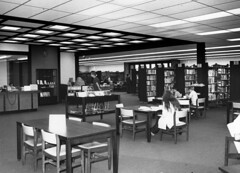 Reading Room, Mission Viejo Regional Library, 1971 (Orange County Archives) Tags: california history historical southerncalifornia missionviejo orangecounty liblibs orangecountypubliclibrary orangecountyarchives orangecountyhistory missionviejoregionallibrary