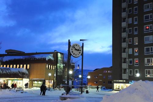 Kirunaの町