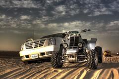 Escaladee + Banshee + Defender (Talal Al-Mtn) Tags: banshee motor kuwait 2008 2009 v8 1990 2007 v6 defender q8 bnaider